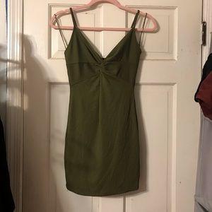 Bodycom navy green dress